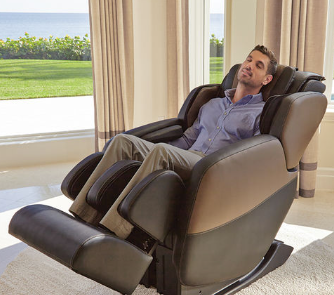 Certified Pre-Owned Renew™ Zero-Gravity Massage Chair by Brookstone