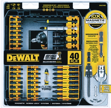 Dewalt 40 Piece Impact Ready Screwdriver Set (DWA2T40IR)