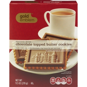 Absolutely Divine Milk Chocolate Topped Butter Cookies