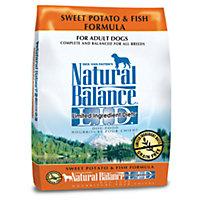 Natural Balance L.I.D. Limited Ingredient Diets Sweet Potato & Fish Dog Food, 4.5 lbs.