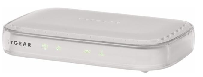 NETGEAR - ADSL2+ Broadband DSL Modem - White