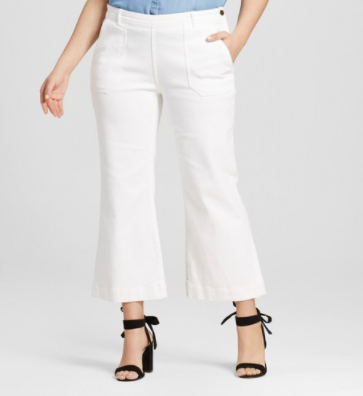 Women's Plus Size High Waisted Cargo Jean - Who What Wear ™