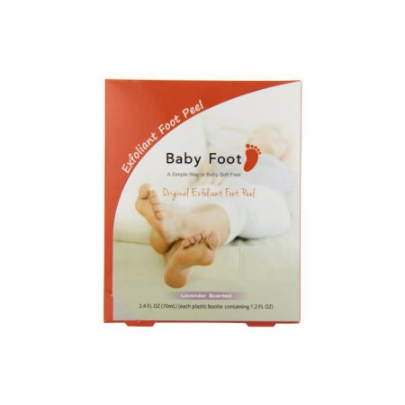 Baby Foot Easy Pack Original Deep Skin Exfoliation for Feet, 2.4 fl. oz.