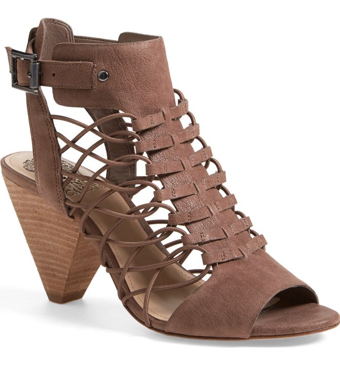 'Evel' Leather Sandal by Vince Camuto