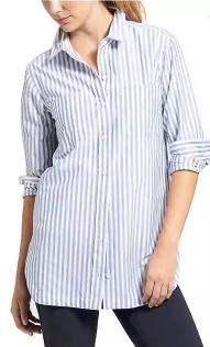 Stripe Weekender Shirt