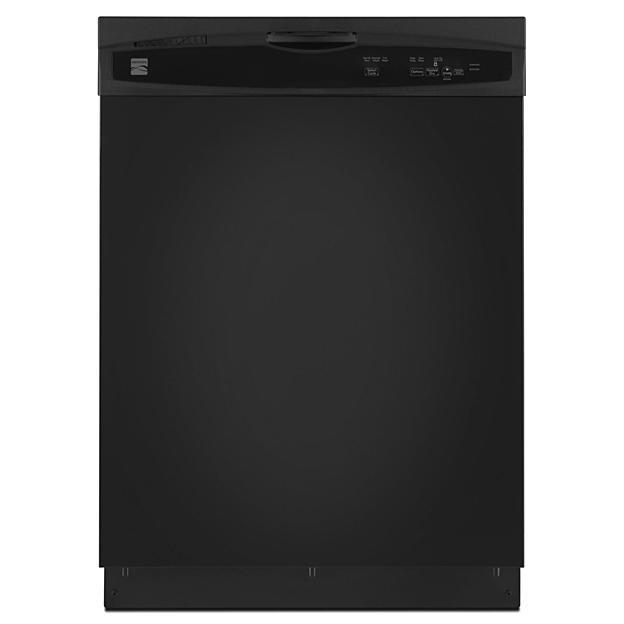 "Kenmore 24"" Built-In Dishwasher - Black"