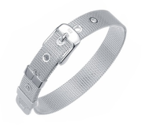 Sterling Silver Belt Buckle Bracelet
