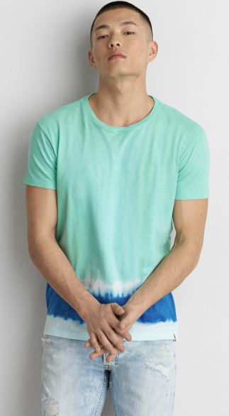 AEO Short Sleeve Tie Dye T-Shirt