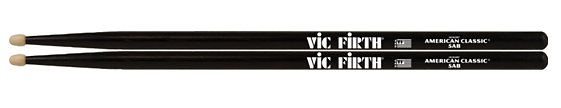 Vic Firth American Classic Drumsticks with Black Finish