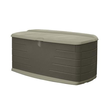 Rubbermaid Deck Box With Seat (5F2200OLVSS)