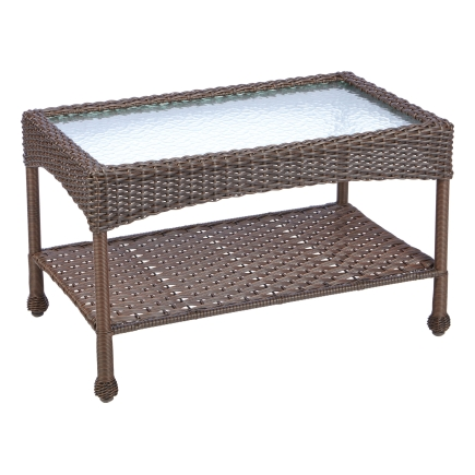 Living Accents Verona Wicker Coffee Table