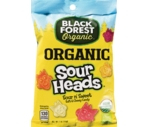 Black Forest Organic Sour Heads, 4 OZ