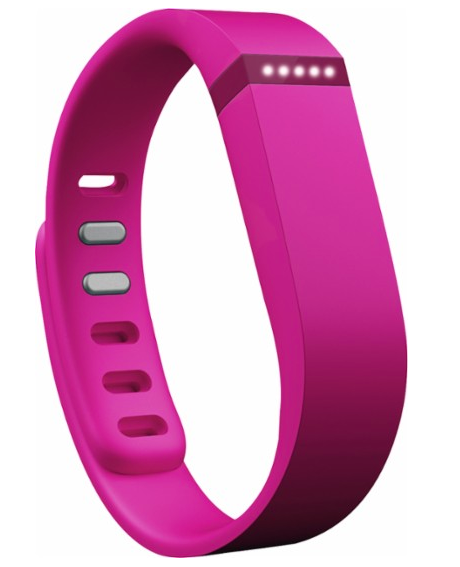 Fitbit - Flex Wireless Activity and Sleep Wristband - Pink