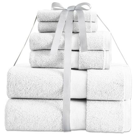 Kassatex Turkish Aegean Cotton 6-pc. Luxury Towel Set