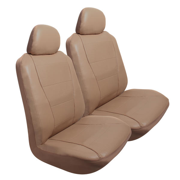 Pilot Automotive 2 pk Perforated Leather-like Seat Cover