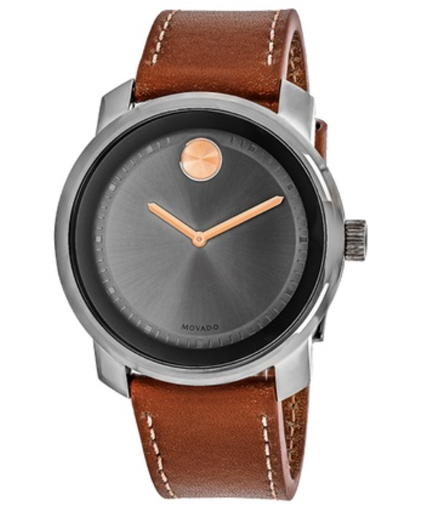Movado Men's Swiss Made Leather Strap Watches