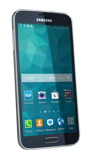 100% Free Mobile Phone Service w/ Samsung Galaxy S5 Black -FreedomPop (Certified pre-owned)