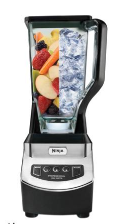 Ninja NJ600 XL 3-Speed 1000 Watts Master Prep Professional Blender