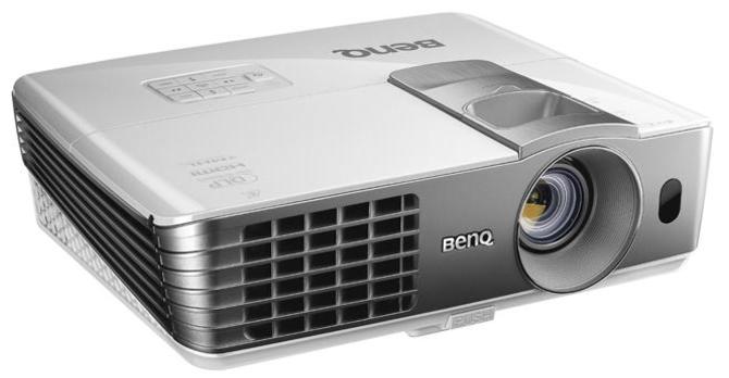"BenQ HT1075 Full HD 3D Wireless Projector, 2200 ANSI Lumens, 10000:1 Contrast Ratio, 40"" - 235"" Image Size, USB"