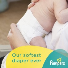 Pampers Diapers, Size 1 (8-14 lb), Sesame Beginnings 35 diapers