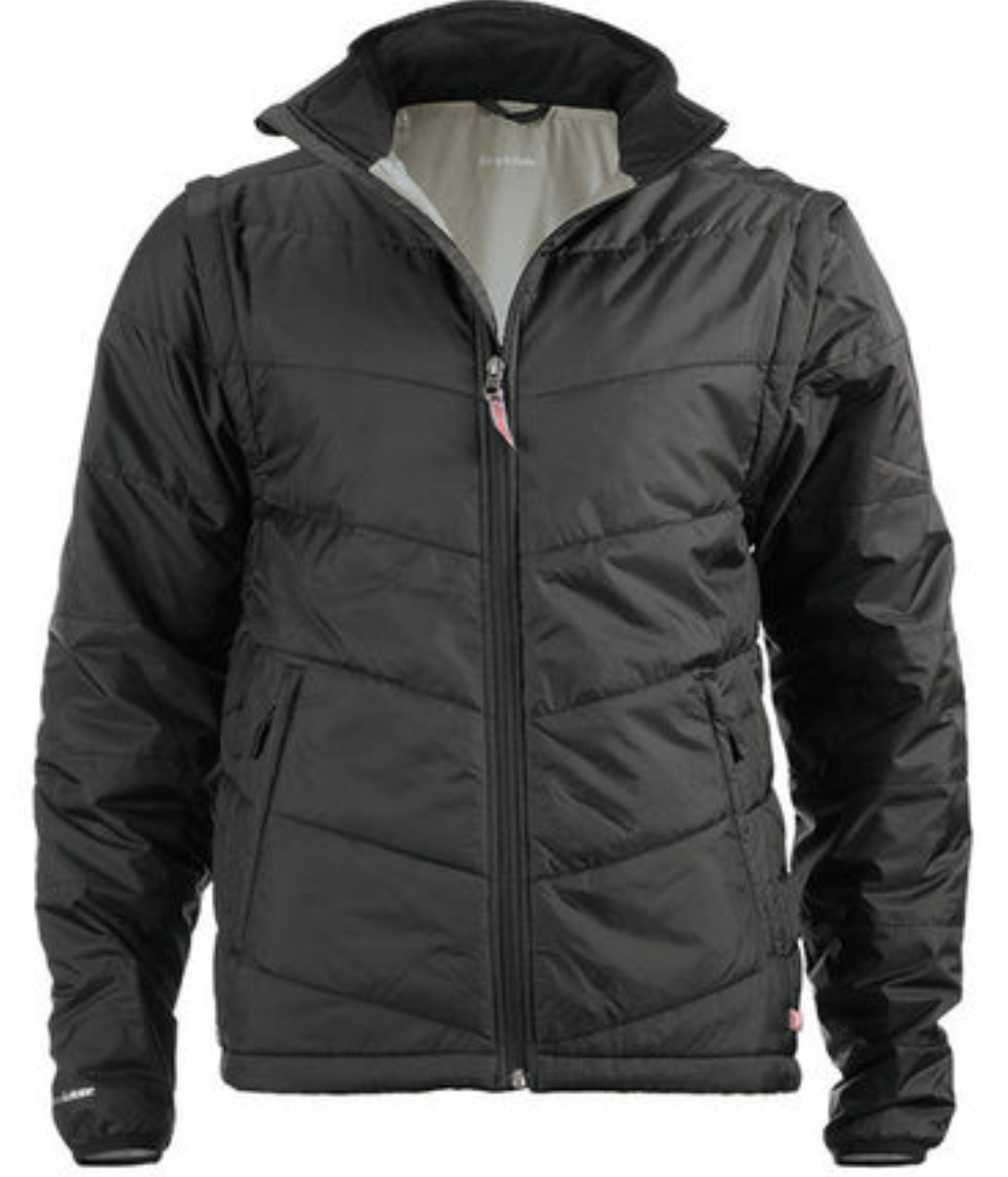 Brookstone Men's 2-in-1 Packable Jacket