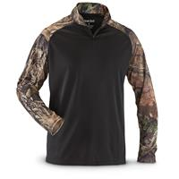 Guide Gear Men's Performance Hunting Quarter Zip Shirt