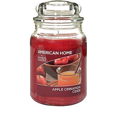 Yankee Candle® American Home™ Apple Cinnamon, Large Jar