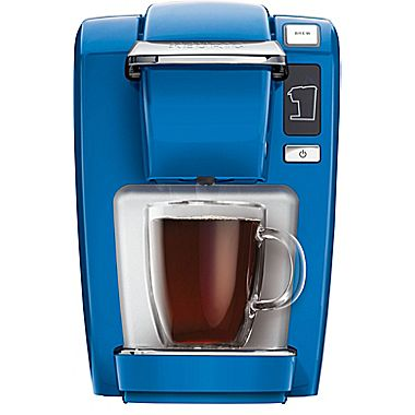 Keurig K15 Coffee Brewer, True Blue