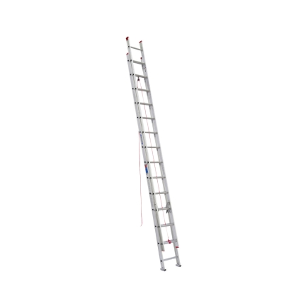 Werner 28Ft Type III Aluminum Extension Ladder (D1128-2)