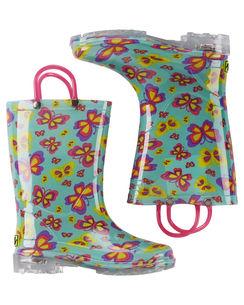 Western Chief Flutter Fierce Light Up Rain Boots