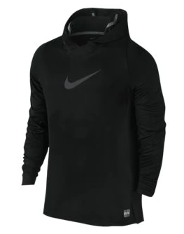 NIKE DRI-FIT ELITE L/S HOODED TOP - MEN'S