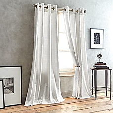 DKNY City Line Grommet Top Window Curtain Panel