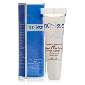 Pur-lisse Daily Lip Nourisher with Mango Butter & Shea Butter (0.38 oz.)