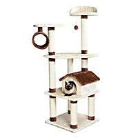 """Trixie Marissa Cat Tree Playground, 22"""" L X 22"""" W X 64.5"""" H"""