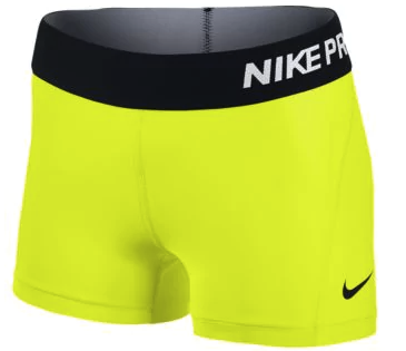 "NIKE PRO COOL 3"" COMPRESSION SHORTS - WOMEN'S"