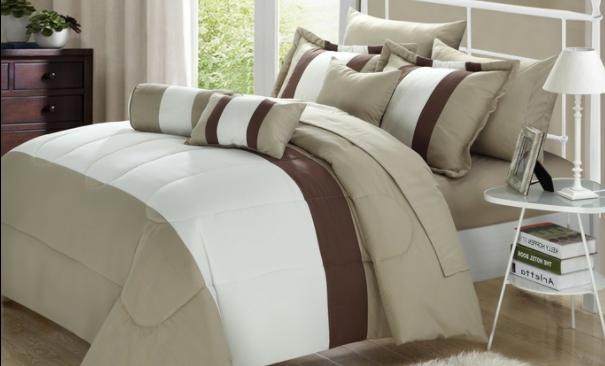 Serenity 10-Piece Microfiber Comforter Set