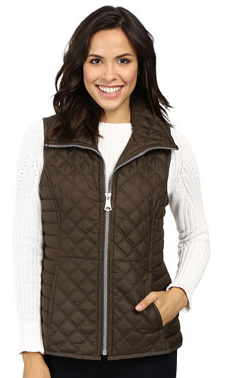 "Marc New York by Andrew Marc Arielle 25"" Polyfill Quilt Vest"