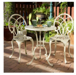 Christopher Knight Home Anacapa 3-Piece Bistro Set