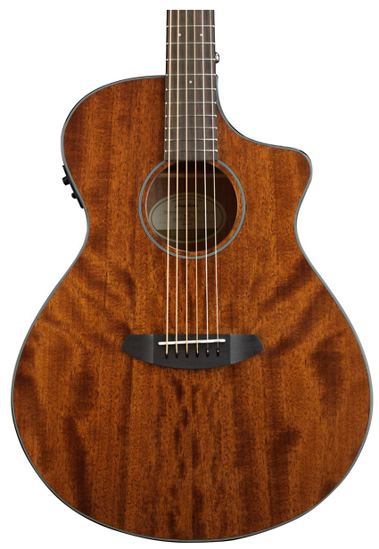 Breedlove Discovery Concert CE 6-String Mahogany Acoustic-Electric Guitar Natural