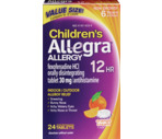 Allegra 12-Hour Kid's Orally Disintegrating Tablet, 24CT