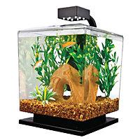 """Tetra 1.5 Gallon LED Desktop Aquarium Kit, 7.25"""" L X 8.5"""" W X 11.5"""" H"""