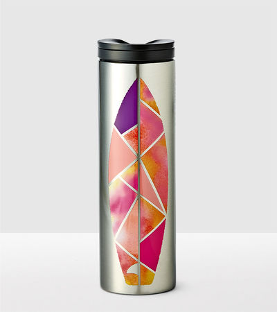 Stainless Steel Surfboard Tumbler