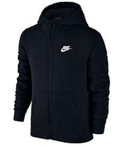 Boys 8-20 Nike Full-Zip Club Hoodie