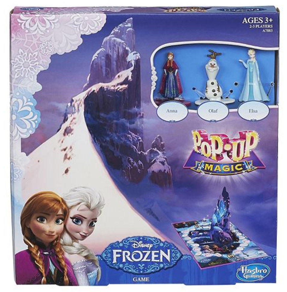 Disney Frozen Pop-Up Magic Game by Hasbro
