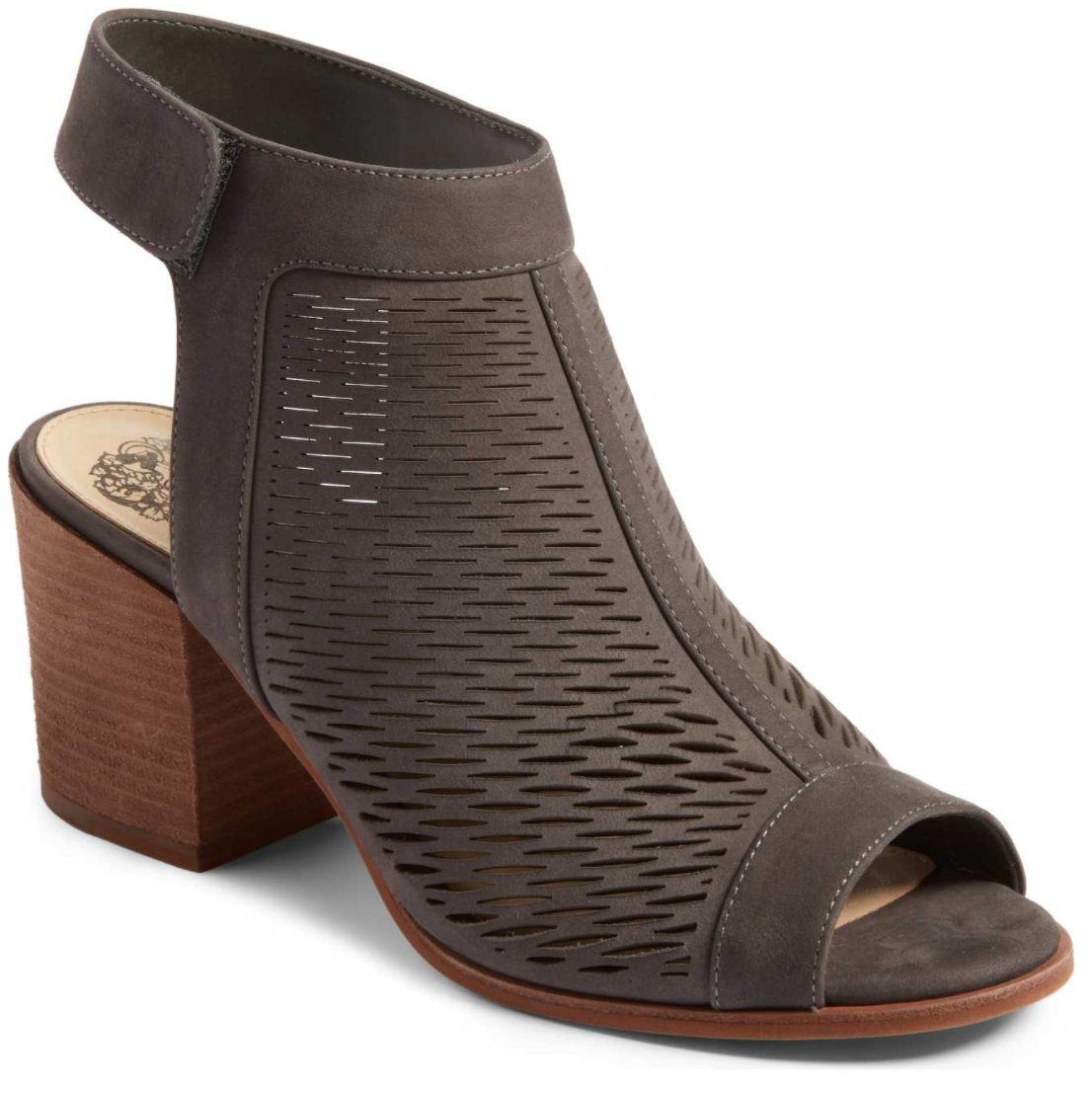 'Lavette' Perforated Peep Toe Bootie by VINCE CAMUTO