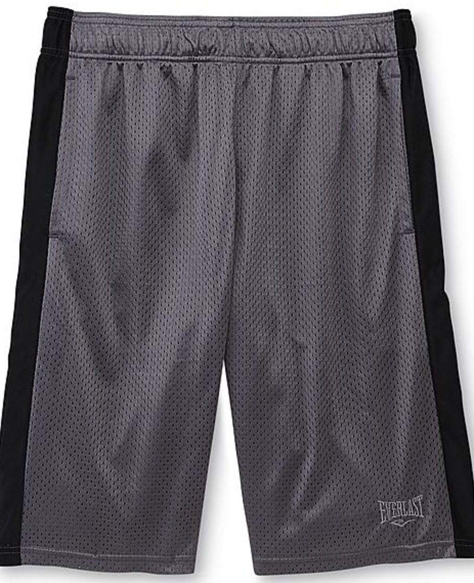 Everlast® Young Men's Mesh Basketball Shorts