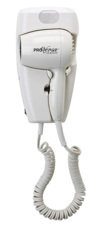 Jerdon 1600-Watt Wall Hair Dryer