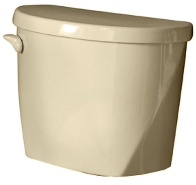American Standard Evolution 2 1.6 GPF Single Flush Toilet Tank Only in Bone