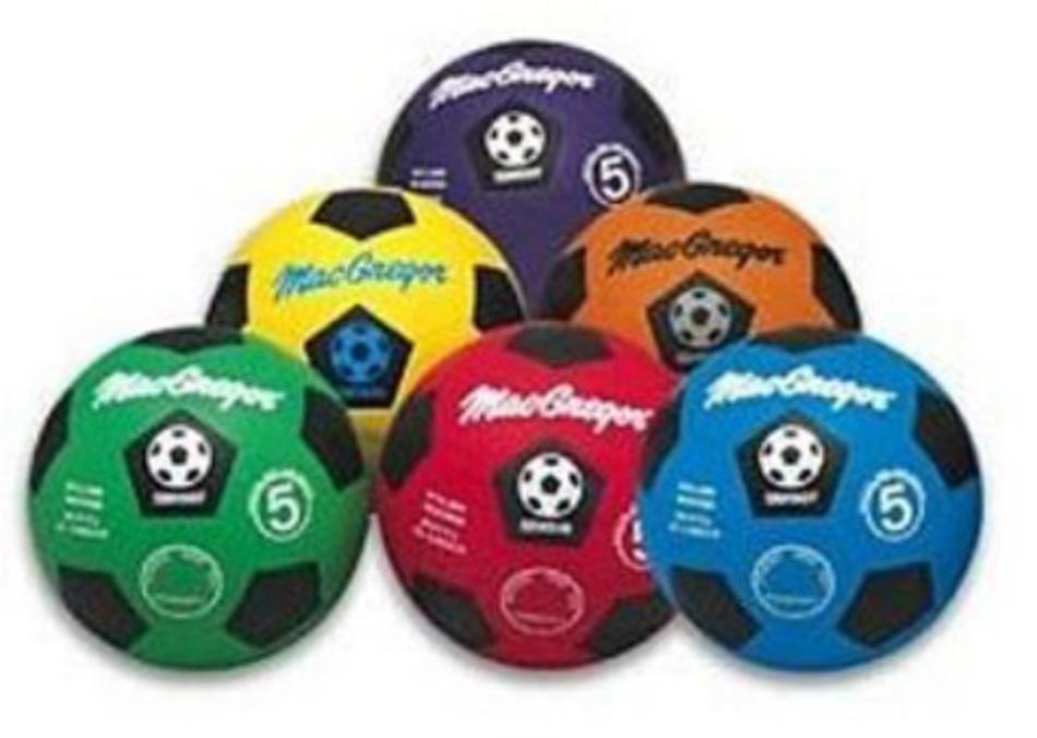 MacGregor Multi-color Soccer Prism Pack