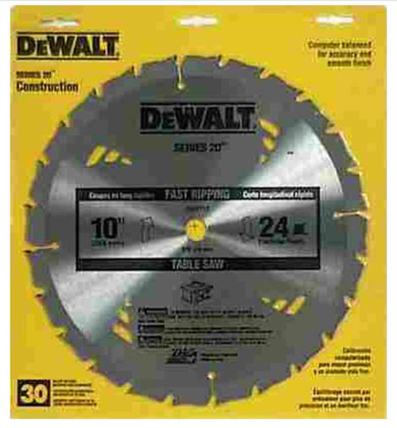 Dewalt® Carbide Tipped Saw Blade (Dw3112)